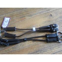Montants de releveur cuir et corde