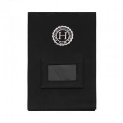 Jersey pochette papiers Cheval noir