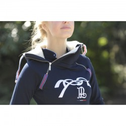 Sweat double zip Pénélope