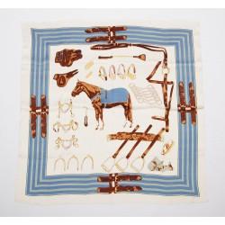 Dimitra petit foulard motifs equestres
