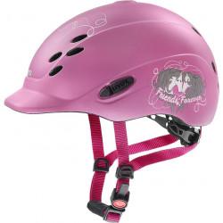 Onyxx pink Friends casque réglable enfant Uvex