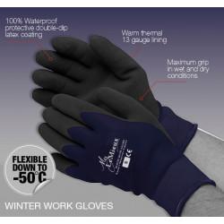 LeMieux gants de travail étanches et chauds
