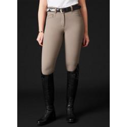 Pantalon Ester fond silicone taupe Mountain Horse